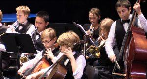 Music academy students