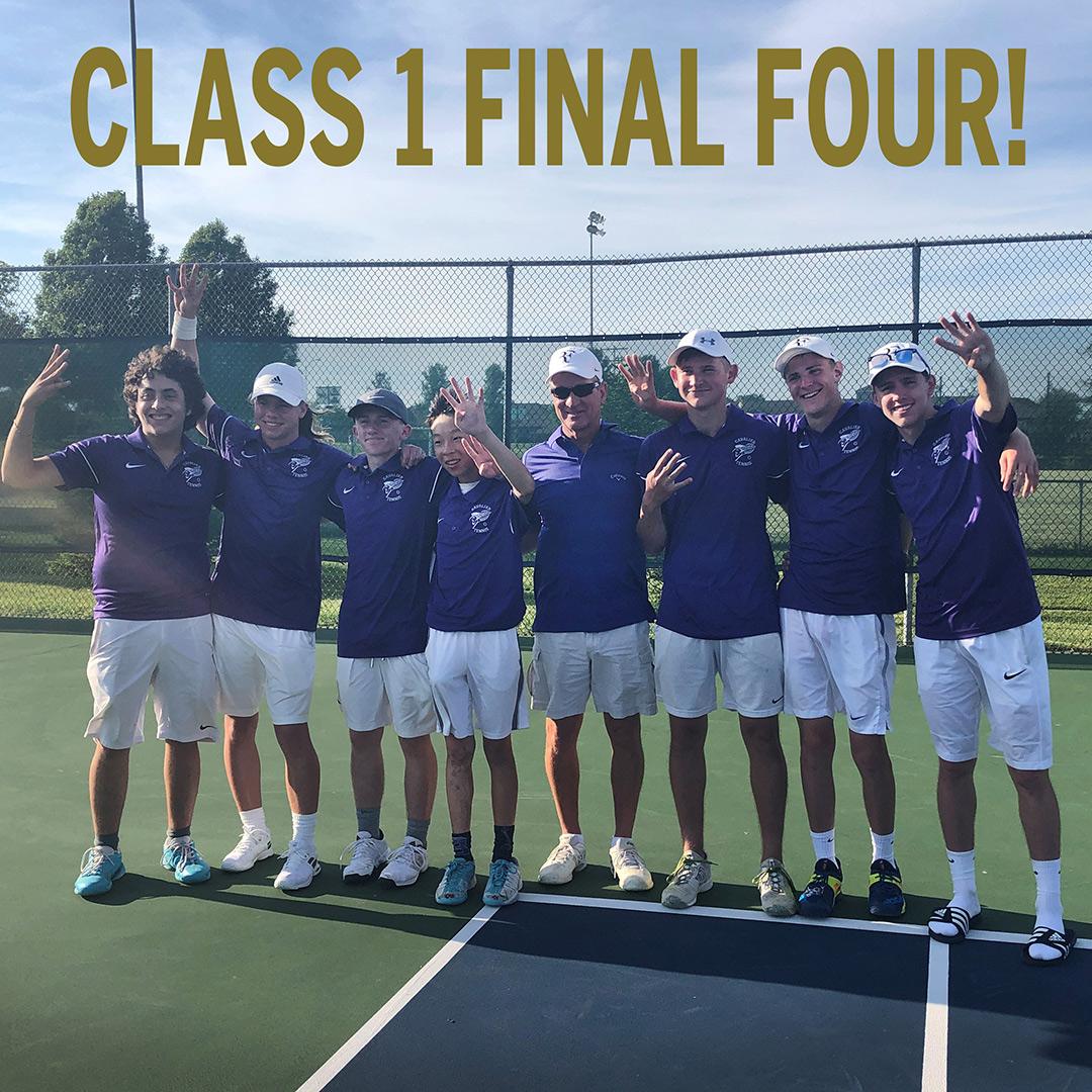 Cavalier Tennis Team advances to State Final Four post thumbnail image