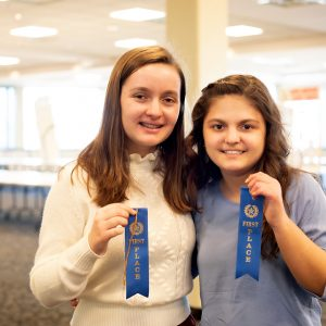 TJ STUDENTS EARN NATIONAL HISTORY DAY STATE CHAMPIONSHIP