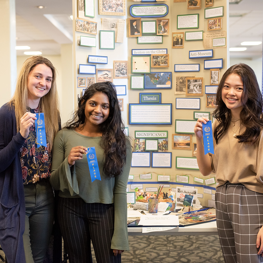 TJ STUDENTS OUTPERFORM AT NATIONAL HISTORY DAY REGIONAL CONTEST, ADVANCE TO STATE post thumbnail image