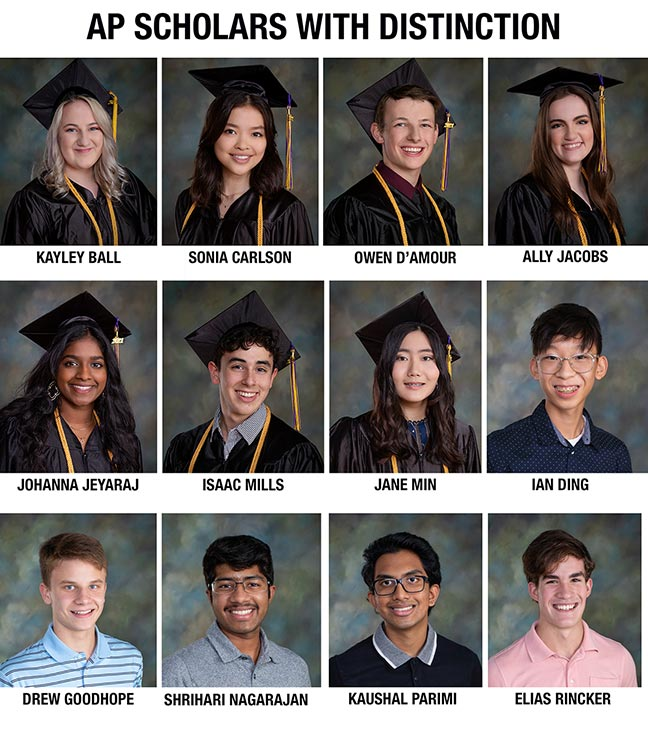 TJ STUDENTS EARN NATIONAL RECOGNITION FOR AP EXAM SUCCESS